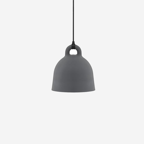 SIMPLE FORM. - Normann Copenhagen - Bell Pendant Grey Small - Pendant