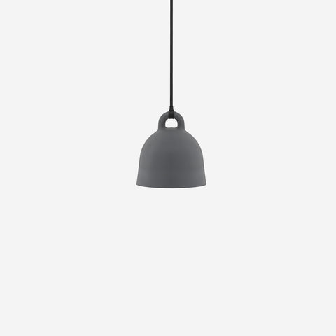 SIMPLE FORM. - Normann Copenhagen - Bell Pendant Grey XSmall - Pendant