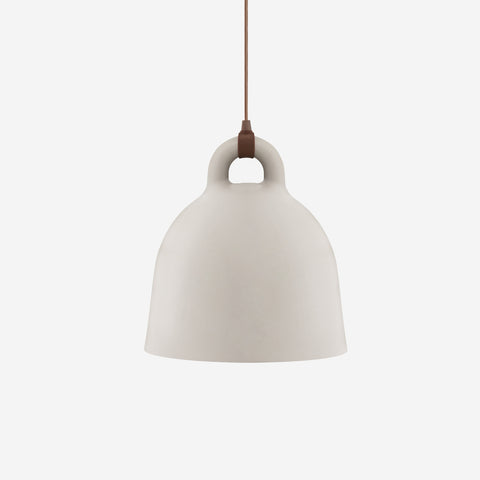 SIMPLE FORM. - Normann Copenhagen - Bell Pendant Sand Large - Pendant