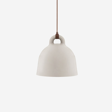 SIMPLE FORM. - Normann Copenhagen - Bell Pendant Sand Medium - Pendant