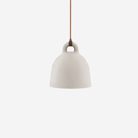 SIMPLE FORM. - Normann Copenhagen - Bell Pendant Sand Small - Pendant