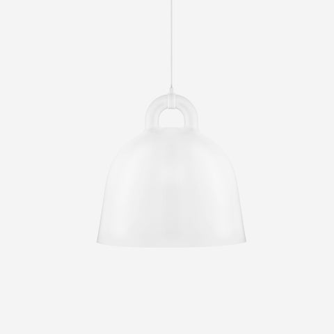 SIMPLE FORM. - Normann Copenhagen - Bell Pendant White Large - Pendant
