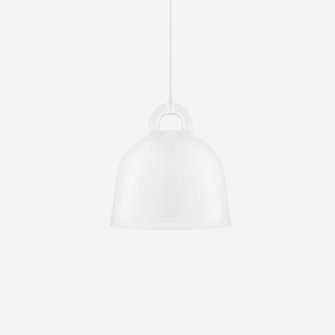 SIMPLE FORM. - Normann Copenhagen - Bell Pendant White Medium - Pendant