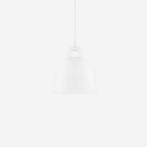 SIMPLE FORM. - Normann Copenhagen - Bell Pendant White Small - Pendant