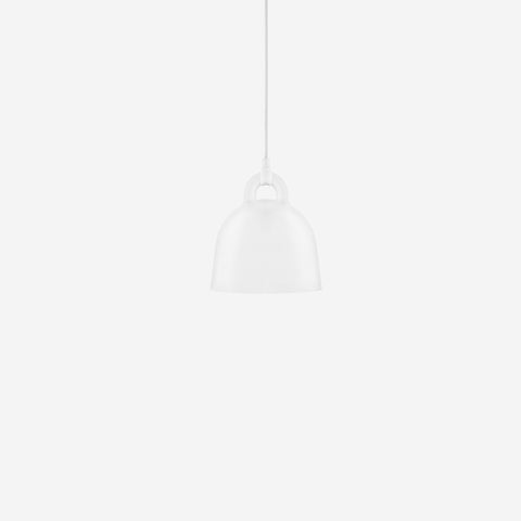 SIMPLE FORM. - Normann Copenhagen - Bell Pendant White XSmall - Pendant