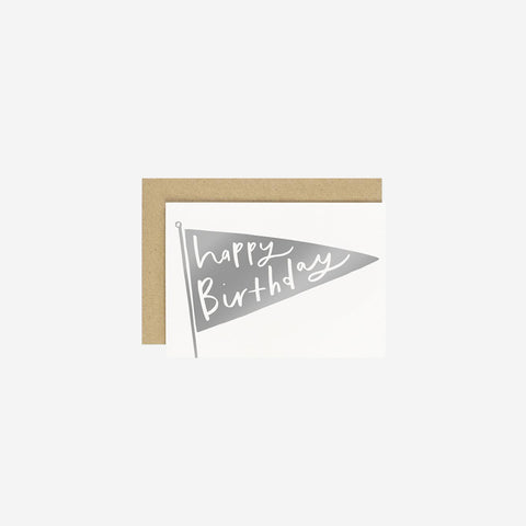 SIMPLE FORM. - Old English Company - Card Happy Birthday - Greeting Card