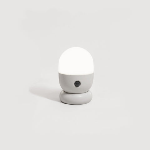 One Simple Concept - Capsule Sensor Night Light Grey - Mirrors  SIMPLE FORM.