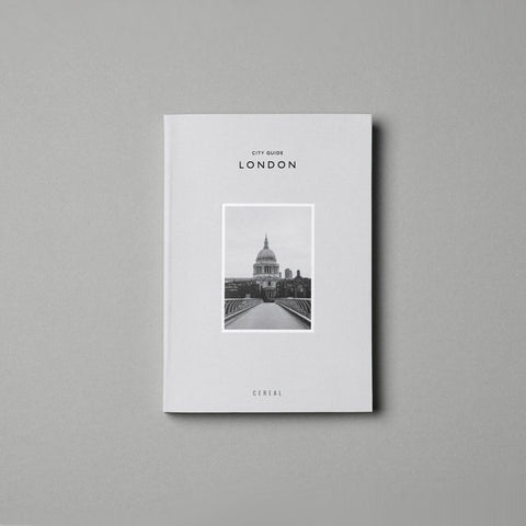 Cereal - Cereal City Guide London - Book  SIMPLE FORM.