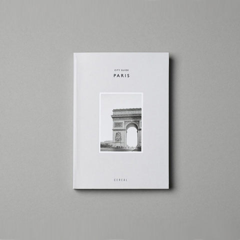 SIMPLE FORM. - Cereal - Cereal City Guide Paris - Book