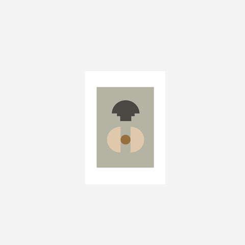 SIMPLE FORM. - Riikka Kantinkoski - New Form 1 Print - Art Print