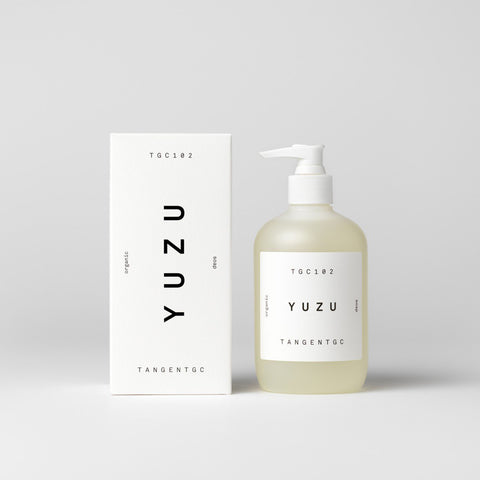 Tangent GC - Organic Soap Yuzu - Bodycare  SIMPLE FORM.