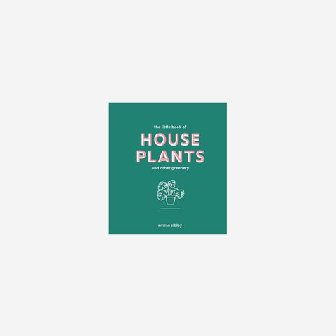 Reading Matters - The Little Book Of House Plants - Book  SIMPLE FORM.