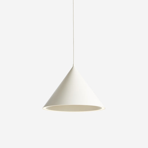 SIMPLE FORM. - WOUD - Annular Pendant Large White - Pendant