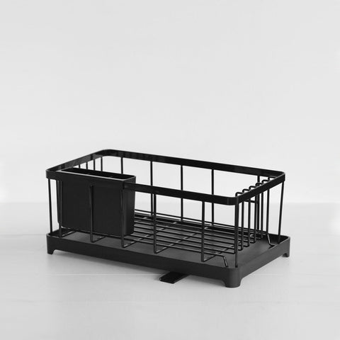 SIMPLE FORM. - Yamazaki - Tower Dish Drainer Rack Black - Drainer