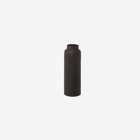SIMPLE FORM. - Zakkia - Bottle Vase Black - Vase