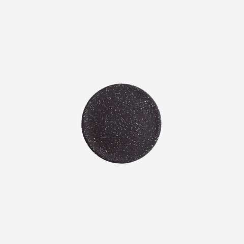 SIMPLE FORM. - Zakkia - Dimple Tray Large Terrazzo Black - Tray
