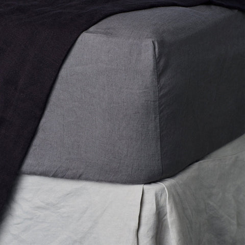 Cultiver - Cultiver Fitted Sheet Charcoal - Bedding  SIMPLE FORM.