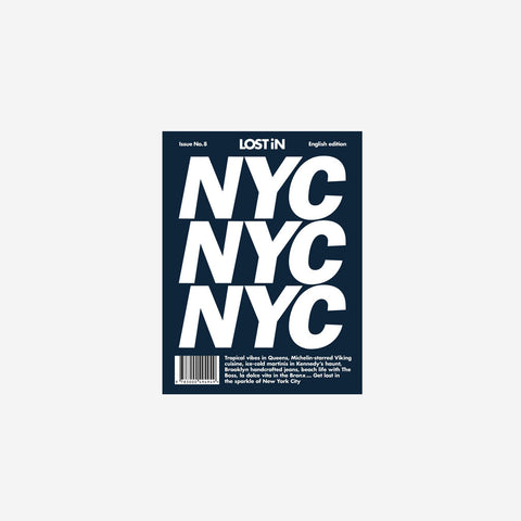 Lost In - Lost In New York - Book  SIMPLE FORM.