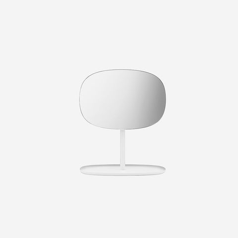 SIMPLE FORM.-Normann Copenhagen Flip Mirror White Mirror