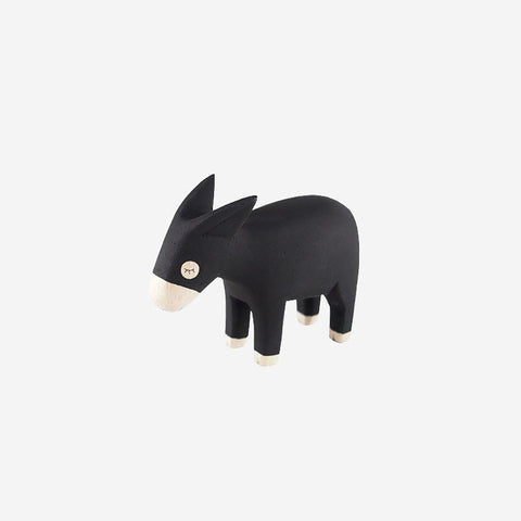 SIMPLE FORM. - T-Lab - Pole Pole Animal Donkey - Wooden Toy