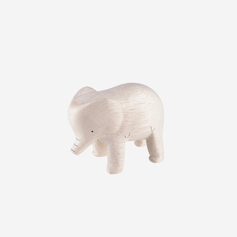 SIMPLE FORM.-T-Lab Pole Pole Animal Elephant Wooden Toy