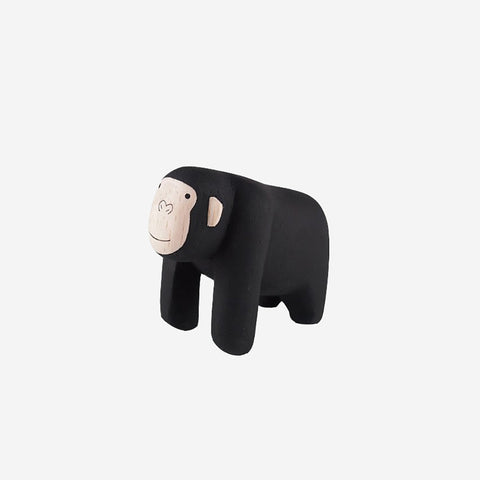SIMPLE FORM. - T-Lab - Pole Pole Animal Gorilla - Wooden Toy