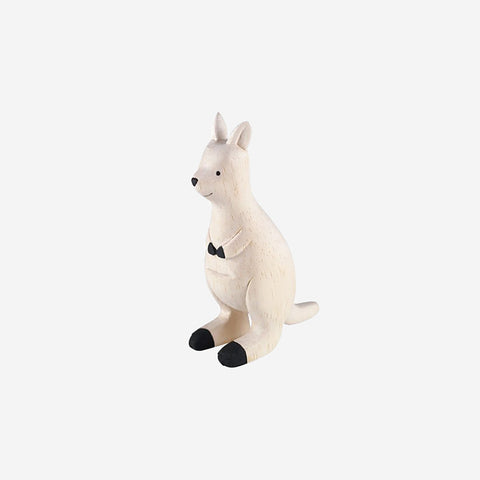 SIMPLE FORM. - T-Lab - Pole Pole Animal Kangaroo - Wooden Toy