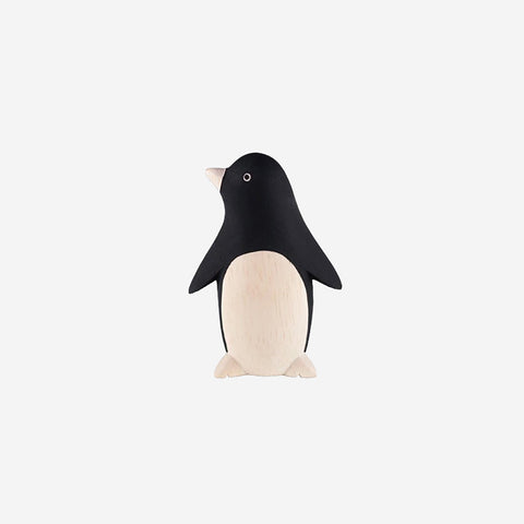 SIMPLE FORM. - T-Lab - Pole Pole Animal Penguin - Wooden Toy