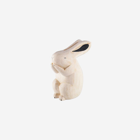 SIMPLE FORM.-T-Lab Pole Pole Animal Rabbit Wooden Toy