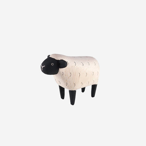 SIMPLE FORM. - T-Lab - Pole Pole Animal Sheep - Wooden Toy