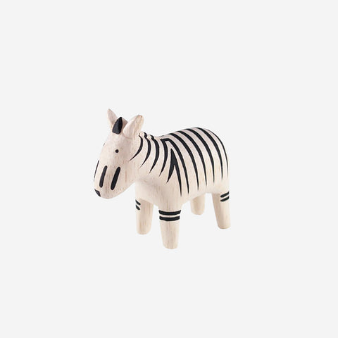 SIMPLE FORM. - T-Lab - Polepole Animal Zebra - Wooden Toy
