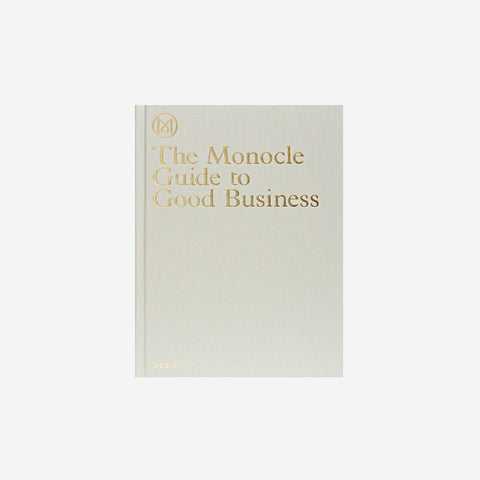 Reading Matters - Monocle Guide To Good Business - Book  SIMPLE FORM.