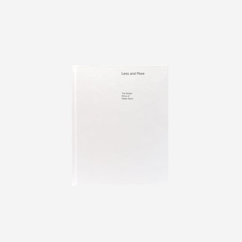 SIMPLE FORM.-Dieter Rams Less and More : The Design Ethos of Dieter Rams Book