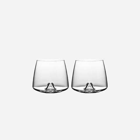 SIMPLE FORM. - Normann Copenhagen - Whiskey Glass Set of 2 - Glasses