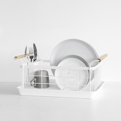 SIMPLE FORM.-Yamazaki Tosca Dish Drainer Kitchen