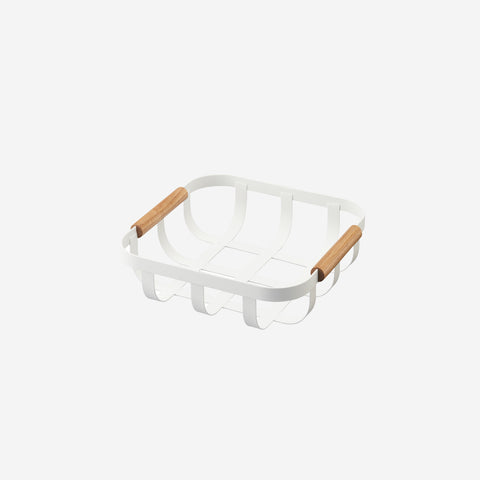 SIMPLE FORM.-Yamazaki Tosca Kitchen Basket Kitchen
