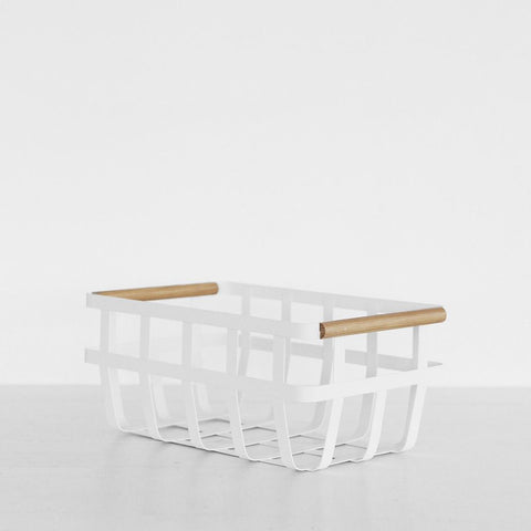 SIMPLE FORM.-Yamazaki Tosca Storage Basket Kitchen