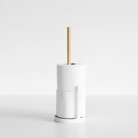 SIMPLE FORM.-Yamazaki Tosca Toilet Paper Stand Bathroom Accessories