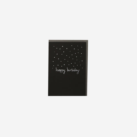 SIMPLE FORM.-Me and Amber Card Confetti Happy Birthday Greeting Card