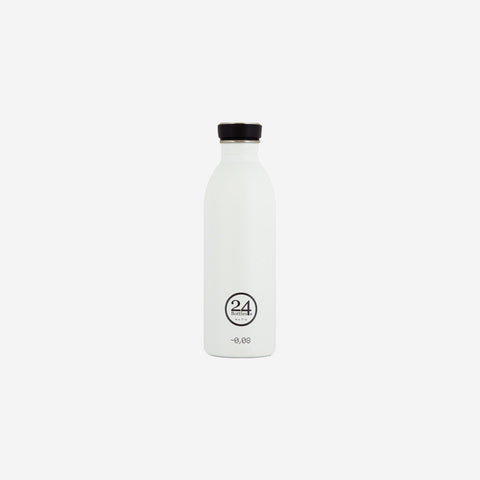 SIMPLE FORM. - 24 Bottles - Urban Bottle 500ml Ice White - Water Bottle