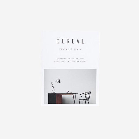 Cereal Magazine - Volume 9 Magazine  - SIMPLE FORM.