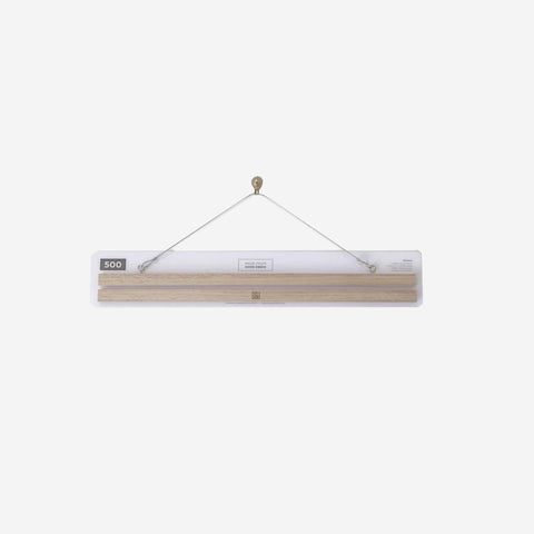 SIMPLE FORM. - Made From Good Deeds - Hanger American Oak - Art Hangers