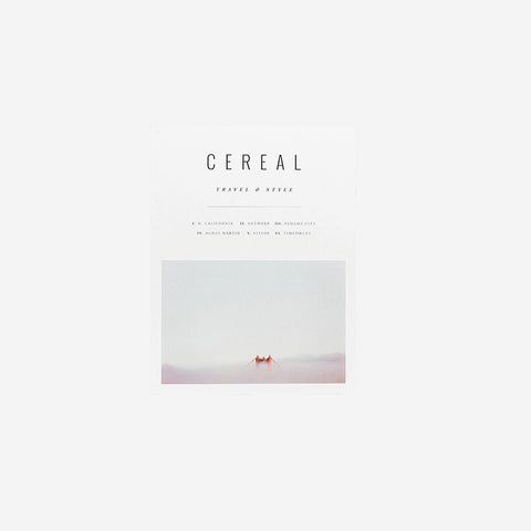 Cereal Magazine - Volume 10 Magazine  - SIMPLE FORM.