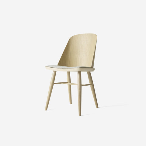 SIMPLE FORM.-Menu Synnes Chair Upholstered Oak Chair