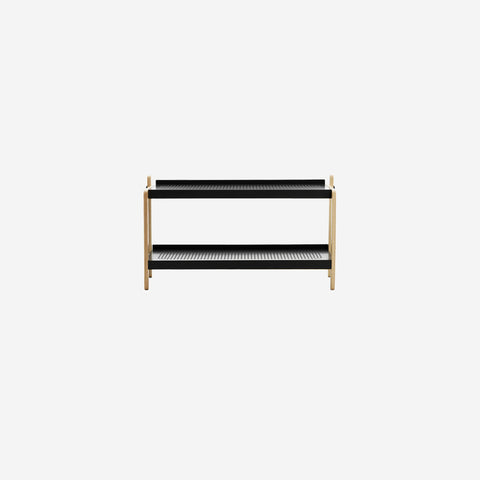 SIMPLE FORM.-Normann Copenhagen Sko Shoe Rack Grey Shoe Rack