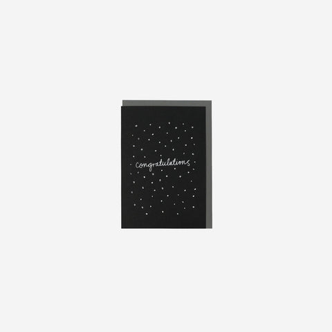 SIMPLE FORM.-Me and Amber Card Confetti Congratulations Greeting Card
