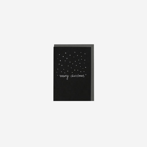 SIMPLE FORM. - Me and Amber - Card Confetti Merry Christmas - Greeting Card