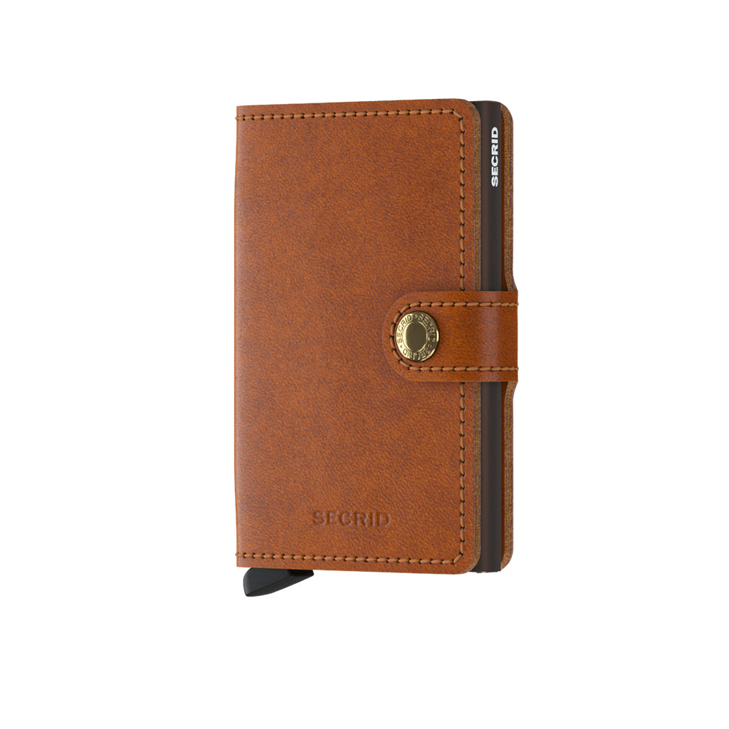 f4a142c89d9 Mini wallet Vintage Cognac Rust | Wallets | Simple Form