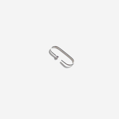 SIMPLE FORM. - Abel - Pin I Earring Sterling Silver - Jewellery