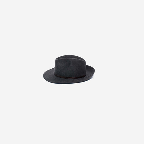 SIMPLE FORM. - Travaux En Cours - Felt Hat Charcoal - Hat